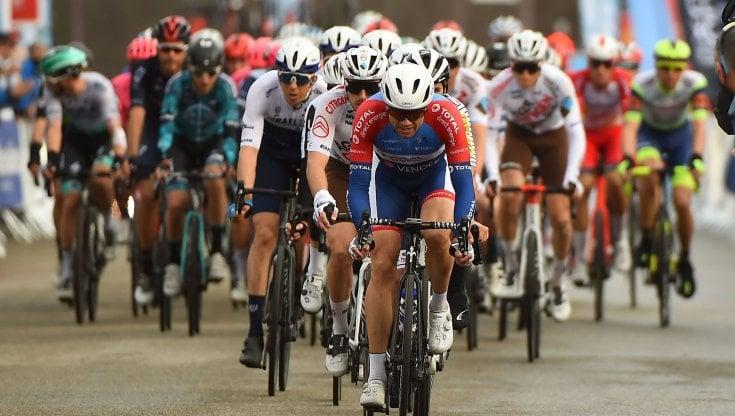 Un momento del Giro d'Italia
