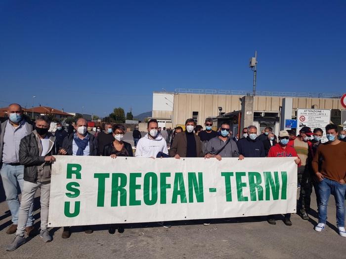 Operai della Treofan
