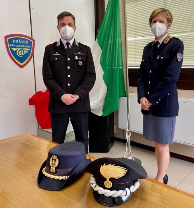 Agenti di Polizia e carabinieri