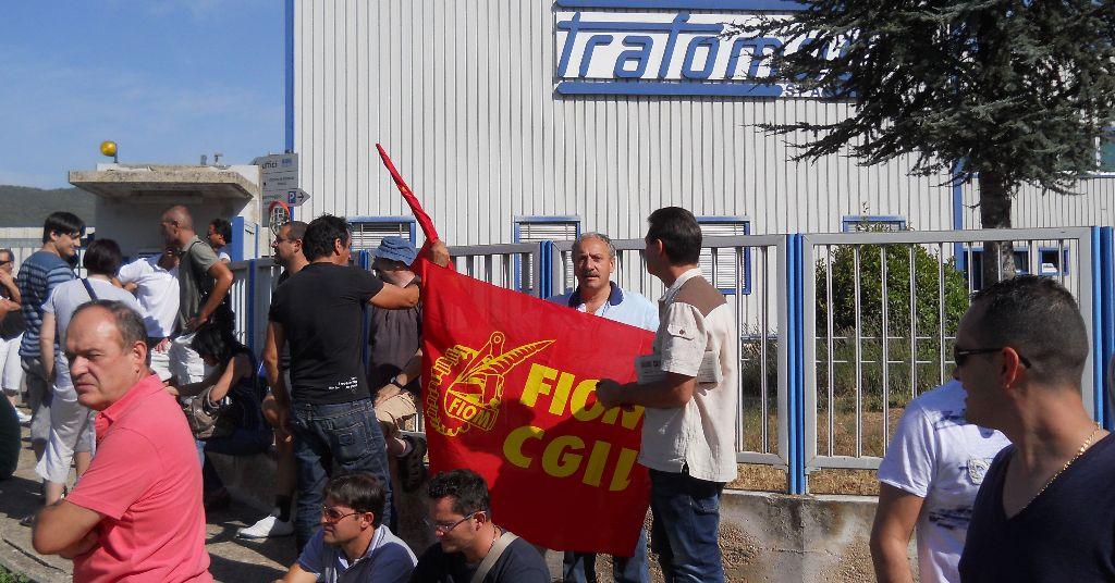 Una manifestazione sindacale