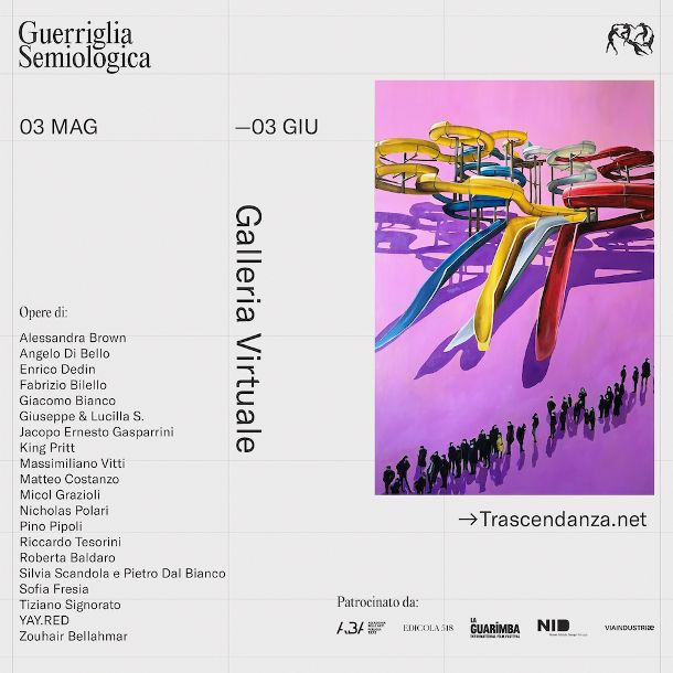 guerriglia semiologica locandina