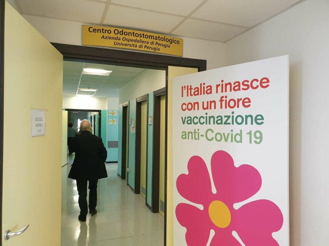 Un centro vaccinale