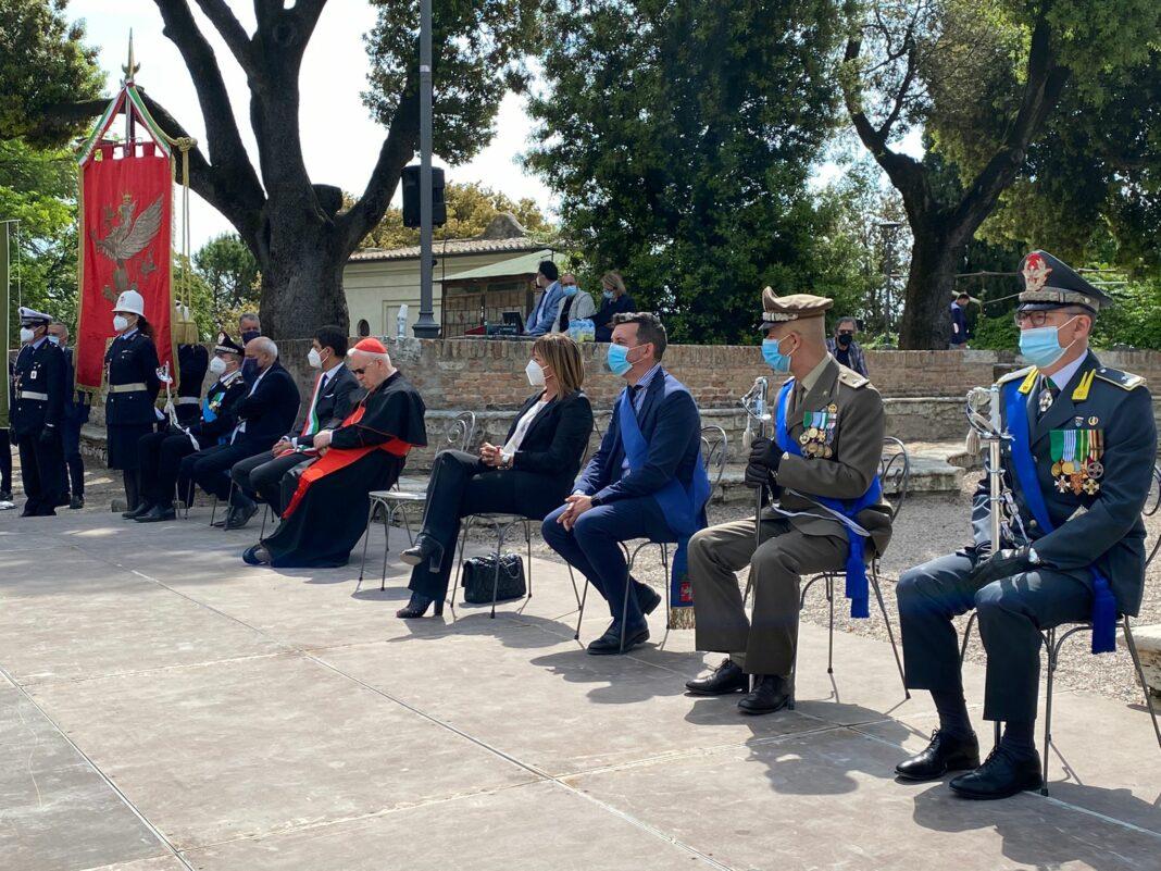 La cerimonia del 2 giugno a Perugia