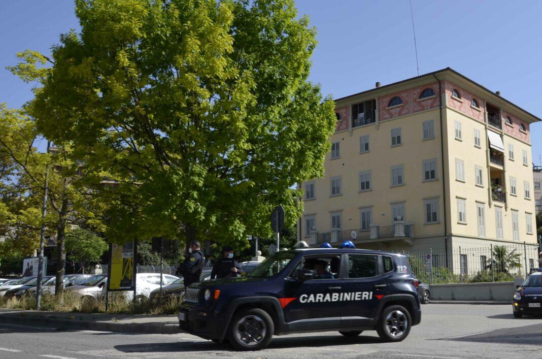 I carabinieri di Ponte San Giovanni