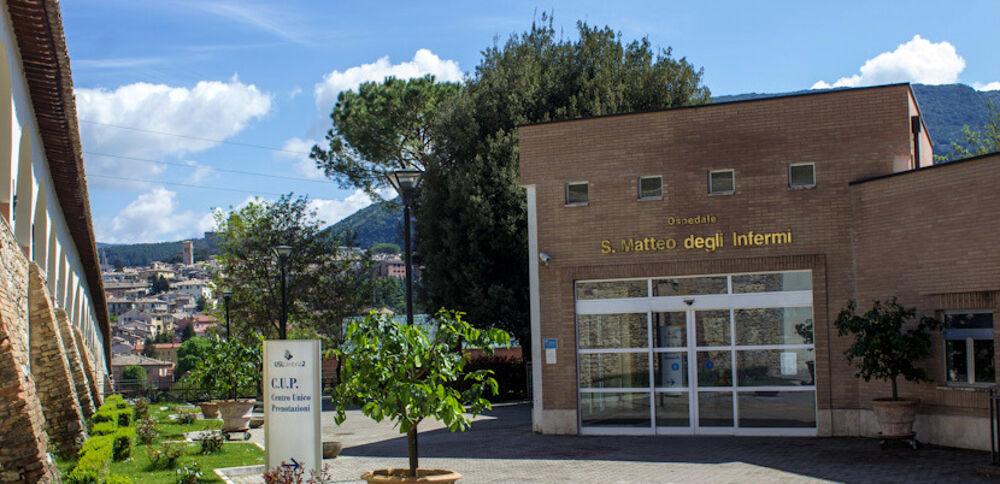 L'ospedale di Spoleto