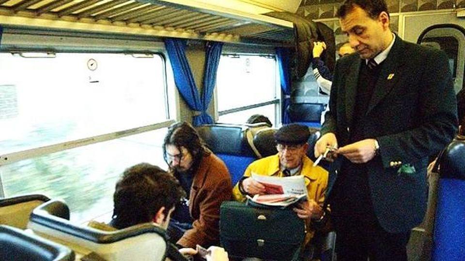 Un controllo sul treno