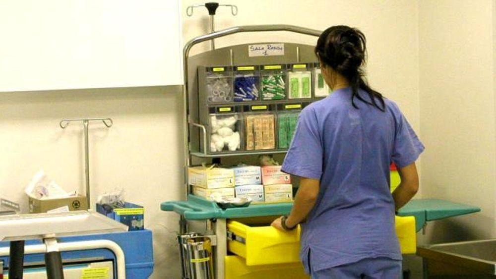 Un'infermiera
