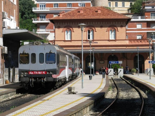 La stazione di Sant'Anna a Perugia