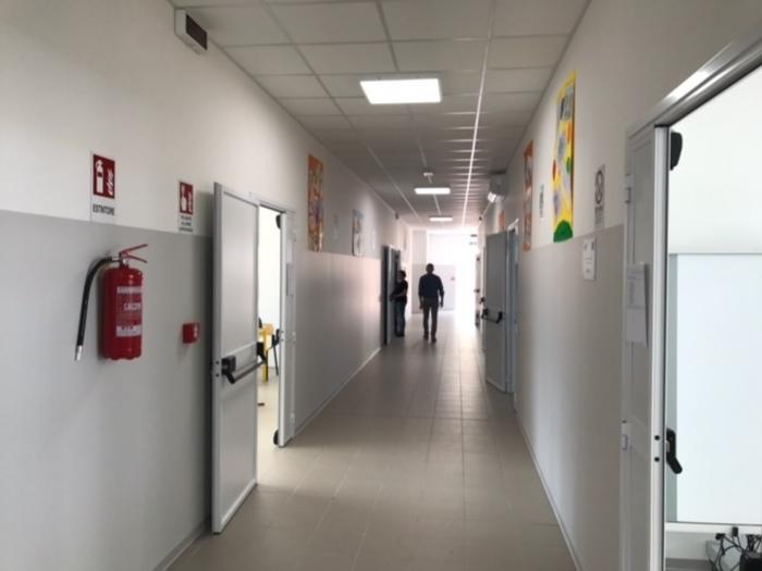 L'interno di una scuola