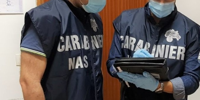 Carabinieri del Nas in azione