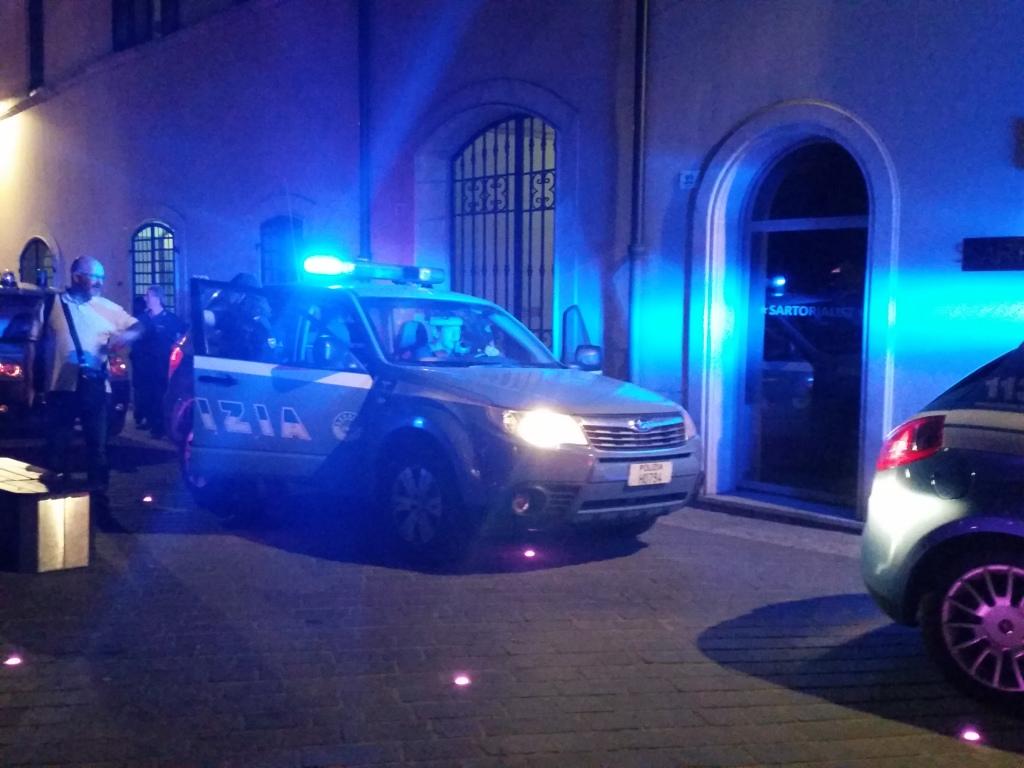 Polizia a Foligno